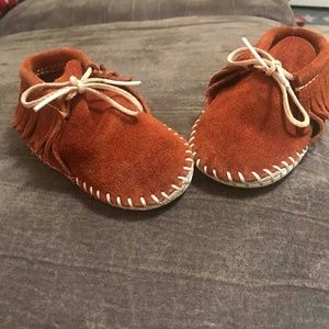 Other - Little Girls Leather Moccasins